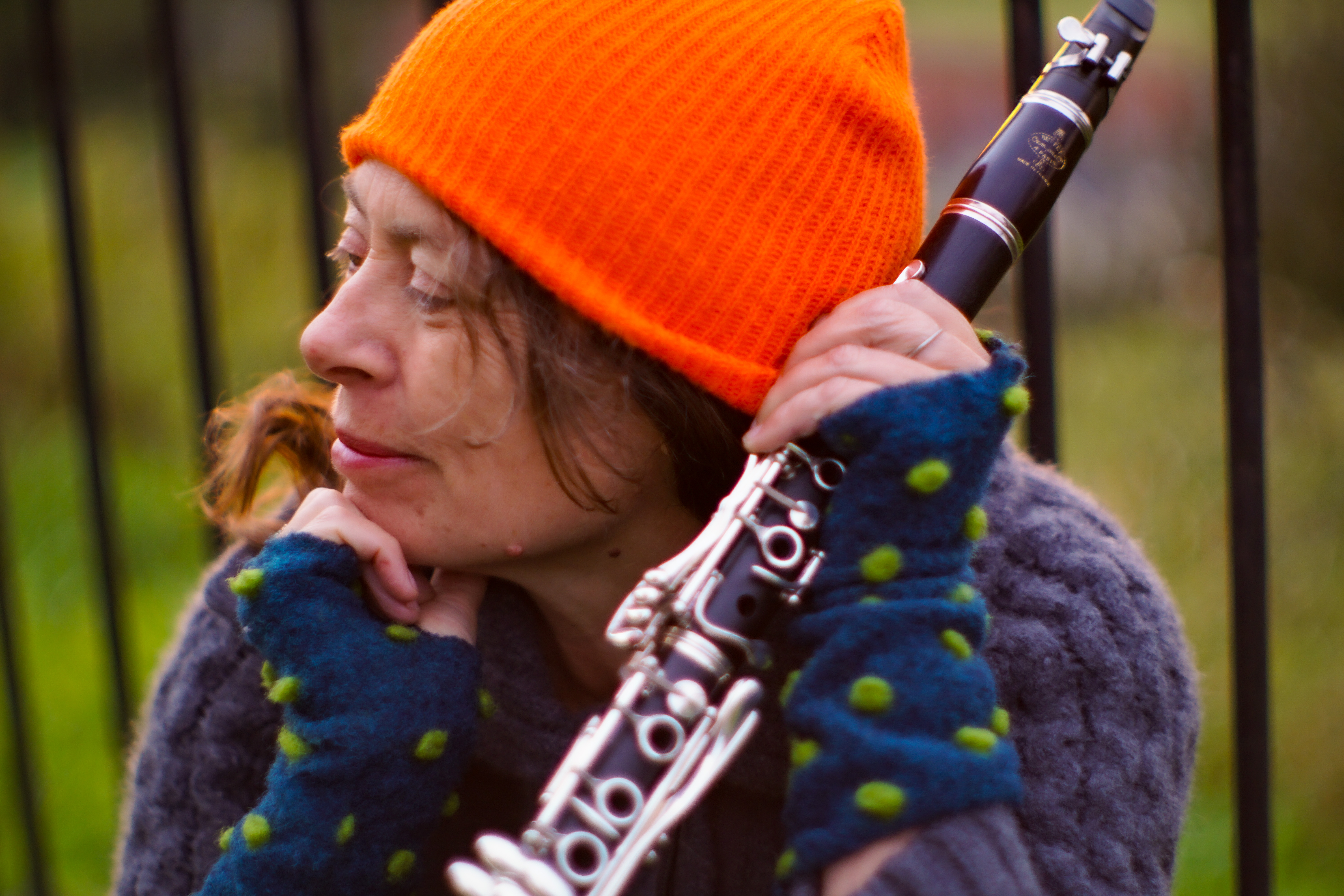 Karen Wimhurst, composer, clarinettist, and educator.